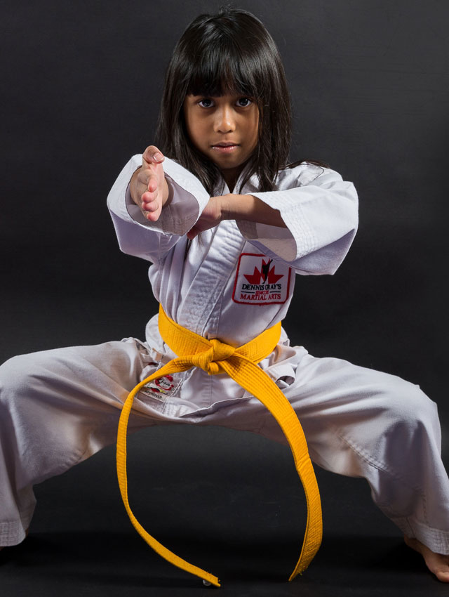 Simcoe Martial Arts - Little Dragon Student